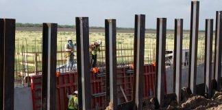 Border Wall Construction Accelerates