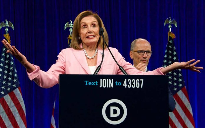 Pelosi Sides With Vandals