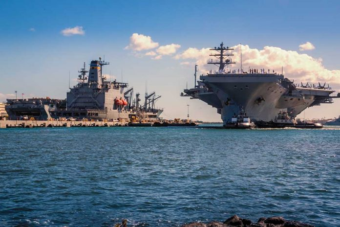 Pentagon Orders Aircraft Carrier to Turn Around After Threats From Iran