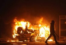 Outbreak of Riots Sparks Dozens of Arrests